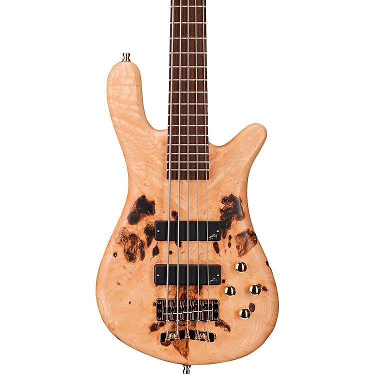 WarwickGerman Pro Series Streamer STI 5-String Bass Limited EditionTinted Natural Satin Transparent