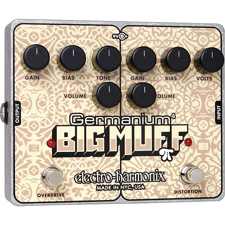 Electro-HarmonixGermanium 4 Big Muff Pi Overdrive and Distortion Guitar Effects Pedal