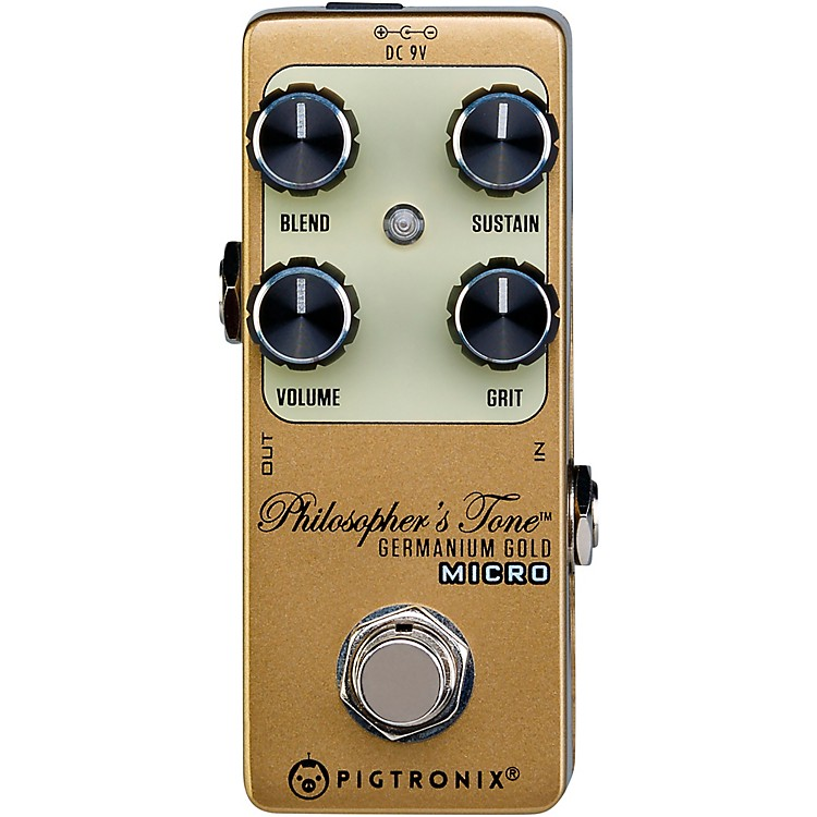 PigtronixGermanium Gold Compressor Micro Effects Pedal