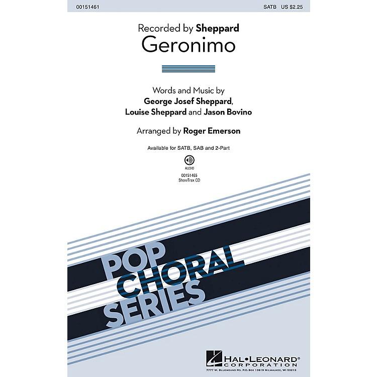 Hal LeonardGeronimo SAB by Sheppard Arranged by Roger Emerson