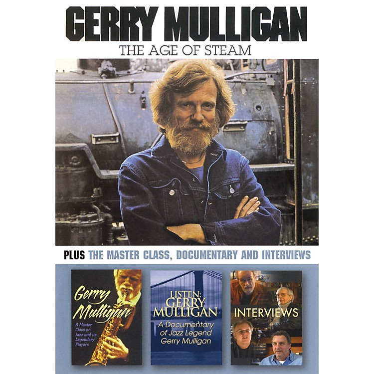 Hal Leonard Gerry Mulligan - The Age of Steam DVD Series DVD Performed by Gerry Mulligan