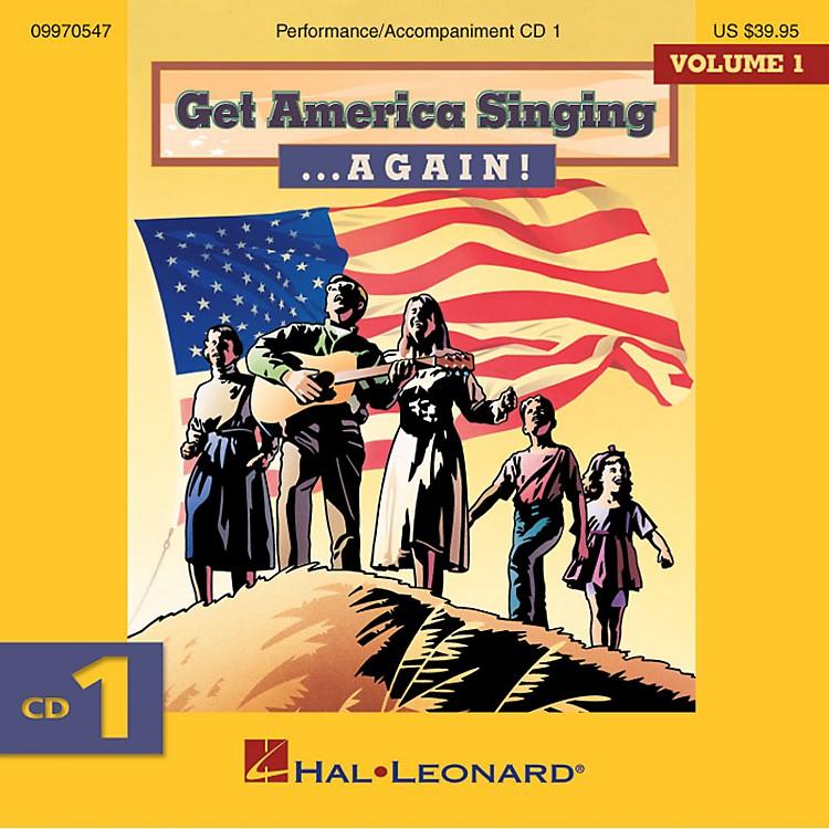 Hal LeonardGet America Singing ... Again! Vol 1 CD One Volume One CD One