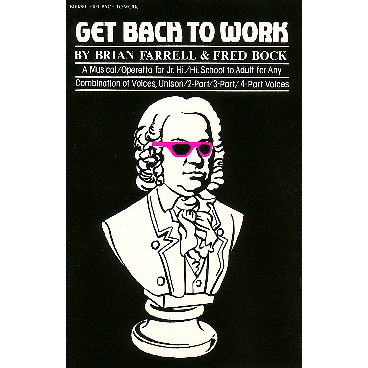 Hal LeonardGet Bach to Work composed by Fred Bock