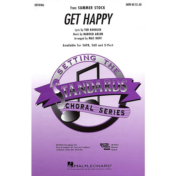 Hal LeonardGet Happy 2-Part Arranged by Mac Huff