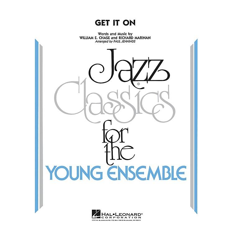 Hal LeonardGet It On Jazz Band Level 3 by Bill Chase Arranged by Paul Jennings