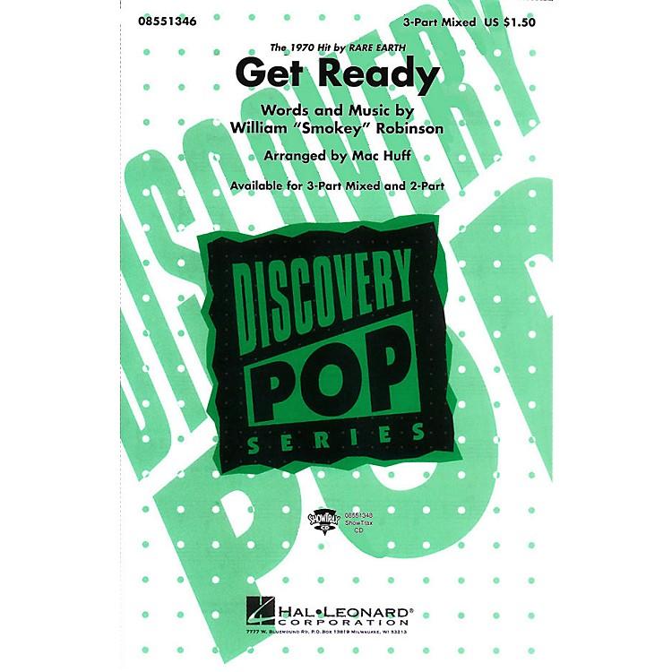 Hal LeonardGet Ready 3-Part Mixed arranged by Mac Huff