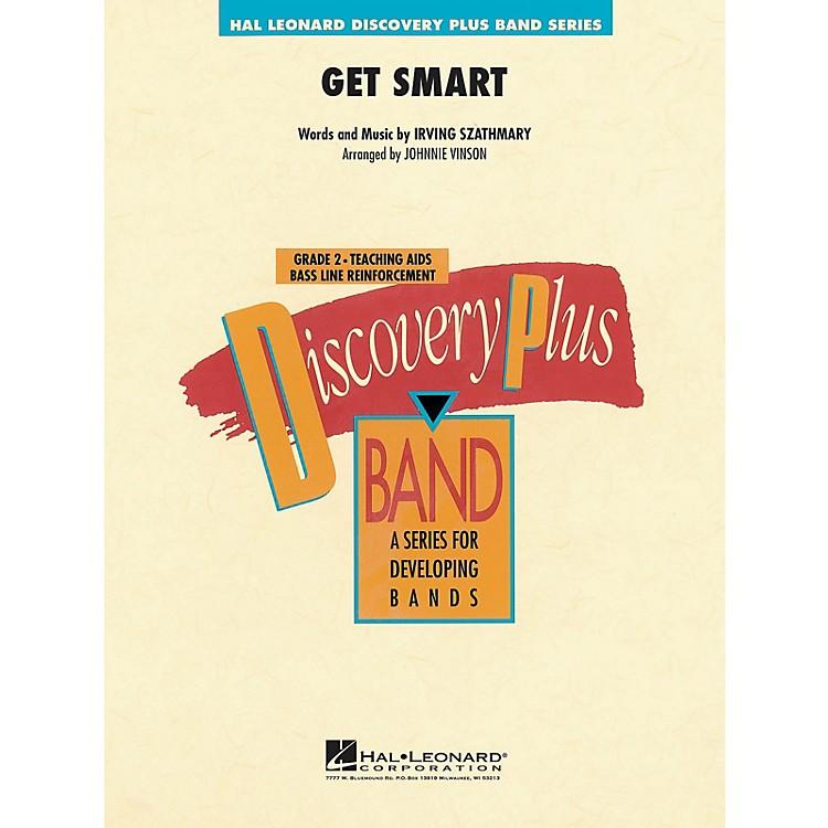 Hal LeonardGet Smart - Discovery Plus Concert Band Series Level 2 arranged by Johnnie Vinson