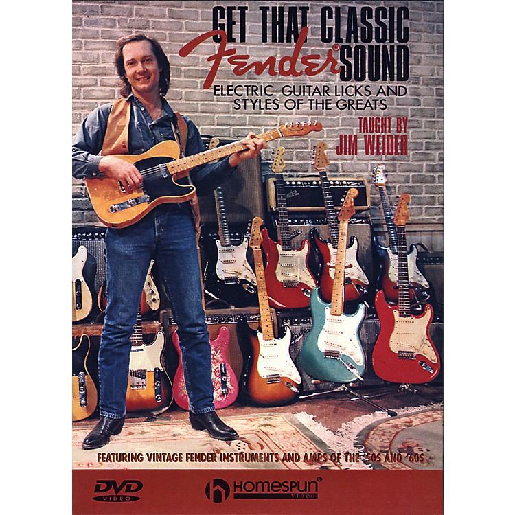 HomespunGet That Classic Fender Sound DVD