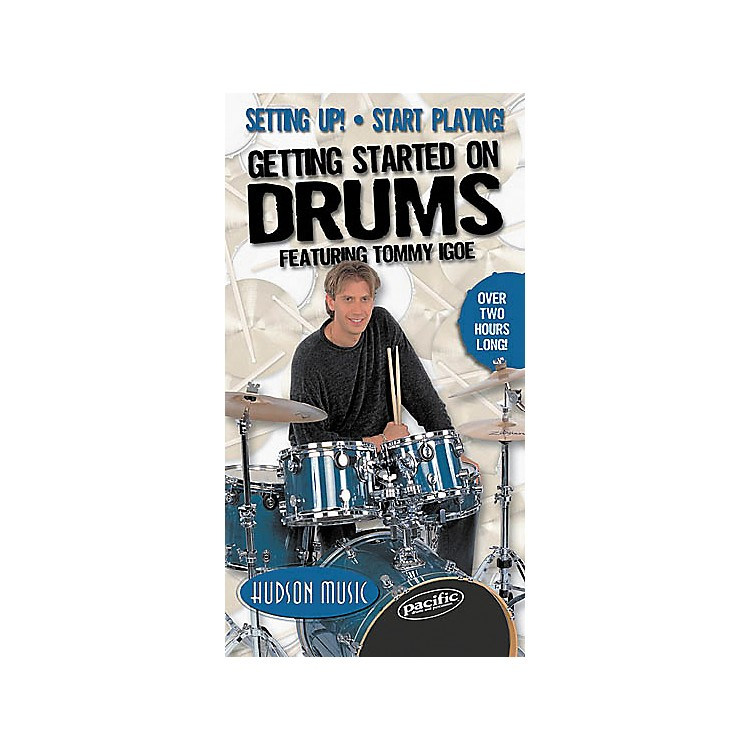 Hudson Music Getting Started on Drums Volumes 1 and 2 (Video)