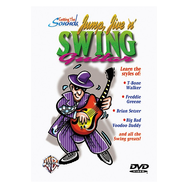 Alfred Getting The Sound - Jump, Jive 'n' Swing Guitar (DVD)