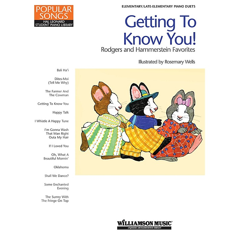 Hal LeonardGetting to Know You! - Rodgers and Hammerstein Favorites by Richard Rodgers (Level Late Elem)