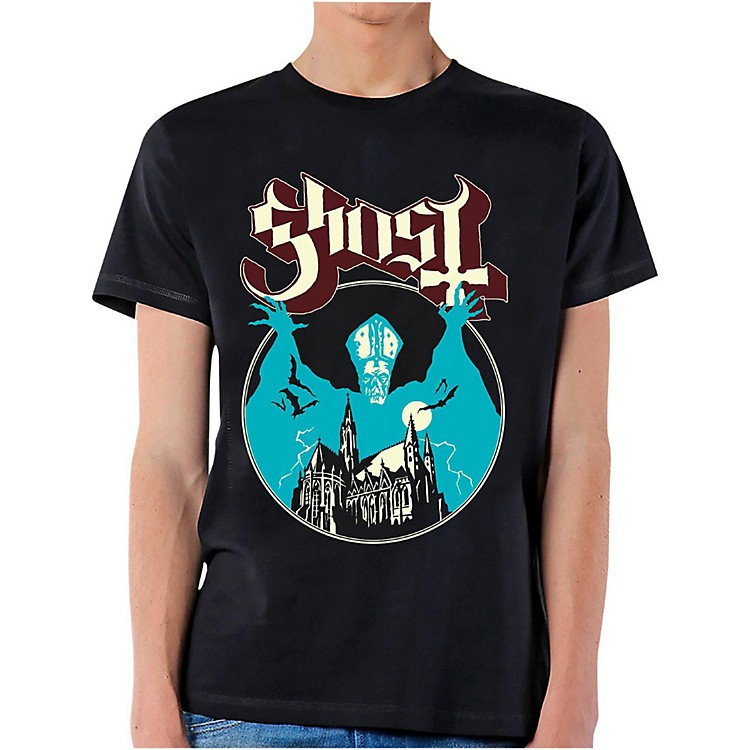 Ghost&nbsp;Ghost <em>Opus</em> T-Shirt&nbsp;Medium&nbsp;Black