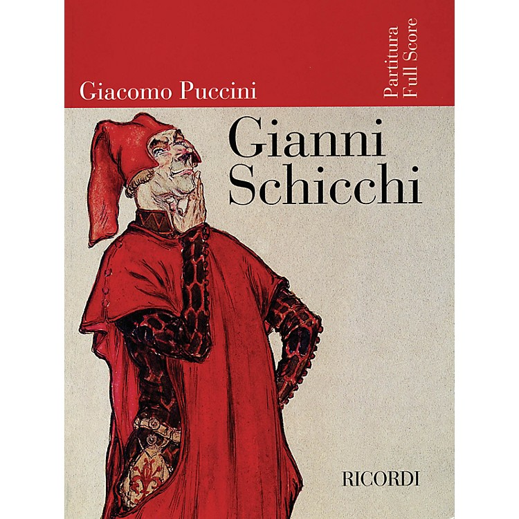 RicordiGianni Schicchi (Full Score) Misc Series  by Giacomo Puccini