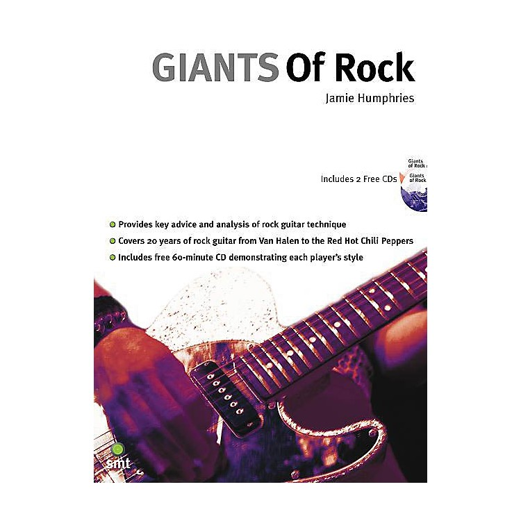Music Sales Giants of Rock Music Sales America Series Softcover with CD Written by Jamie Humphries