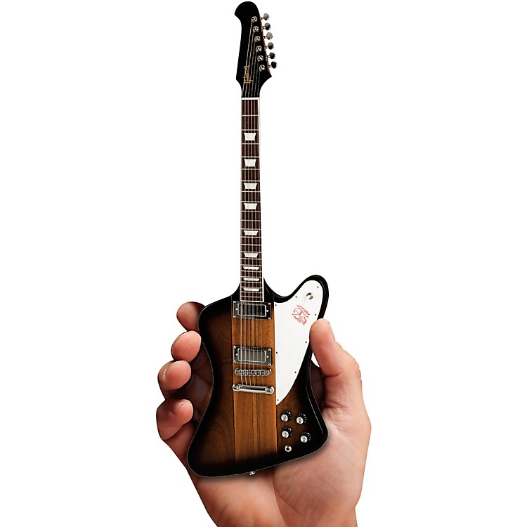 Axe Heaven Gibson Firebird V Vintage Sunburst Officially Licensed Miniature Guitar Replica