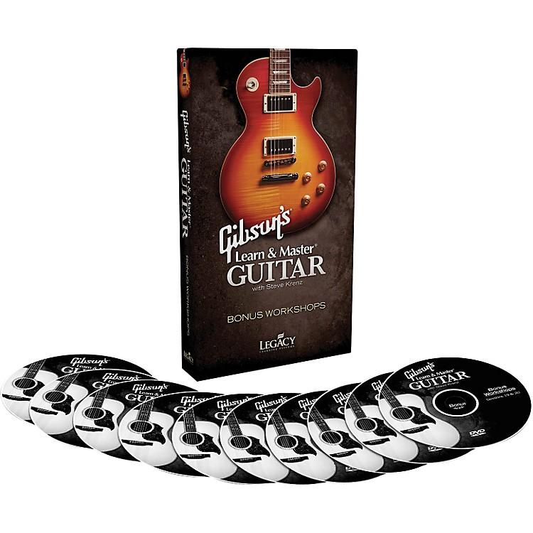 Hal LeonardGibson's Learn & Master Guitar Bonus Workshops Legacy Of Learning Series