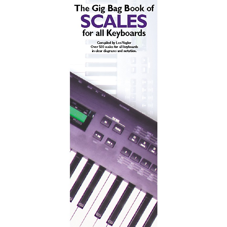 Music SalesGig Bag Book of Scales for all Keyboards