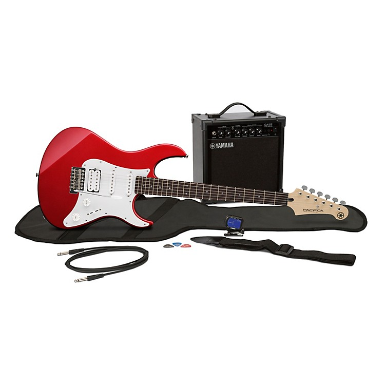 Yamaha GigMaker EG Electric Guitar Pack Metallic Red