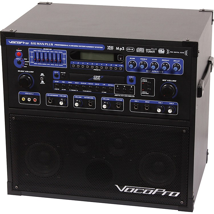 VocoPro GigMan Plus All In One Karaoke System | Music123