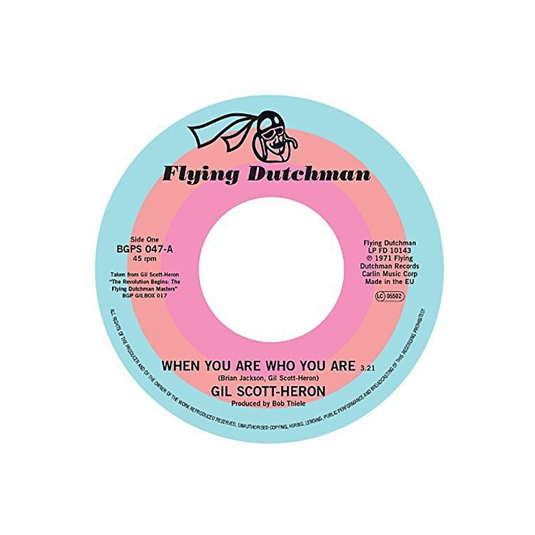 AllianceGil Scott-Heron - When You Are Who You Are / Free Will