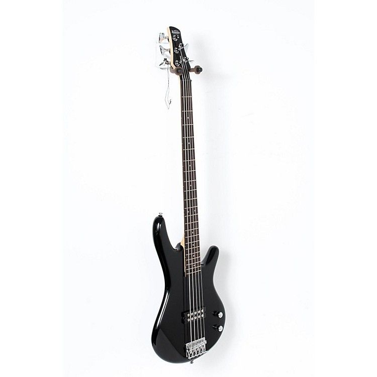 Ibanez Gio GSR105EX 5-String Bass Guitar Black 888365894584