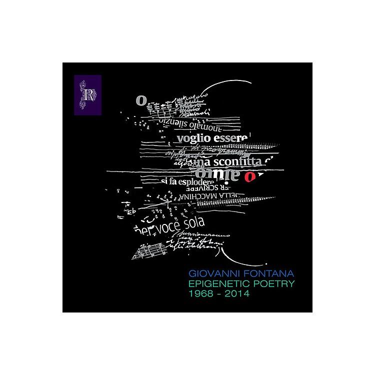 AllianceGiovanni Fontana - Epigenetic Poetry