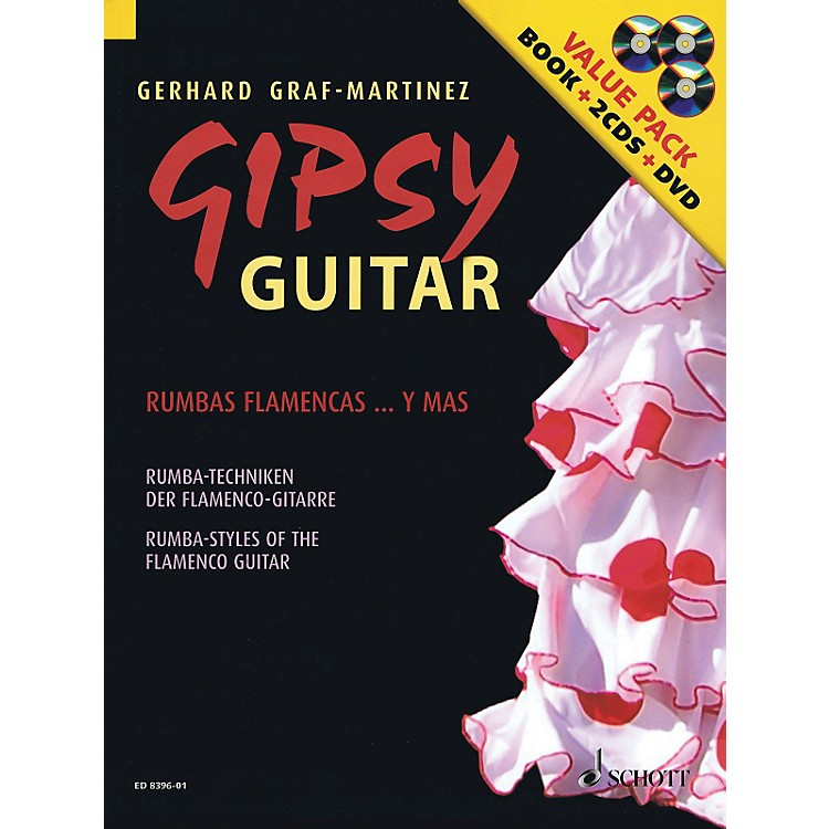 Hal Leonard Gipsy Guitar - Rumba Styles of the Flamenco Guitar (Book/2CDs/DVD)