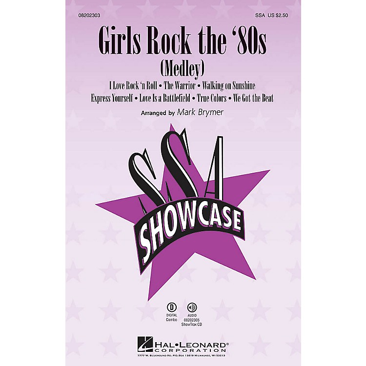 Hal Leonard Girls Rock the '80s (Medley) ShowTrax CD Arranged by Mark Brymer