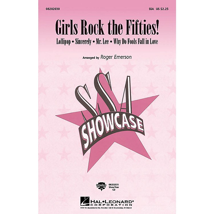 Hal LeonardGirls Rock the Fifties! ShowTrax CD Arranged by Roger Emerson