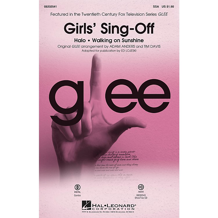 Hal Leonard Girls' Sing-Off (from Glee) SSA by Glee Cast arranged by Ed Lojeski