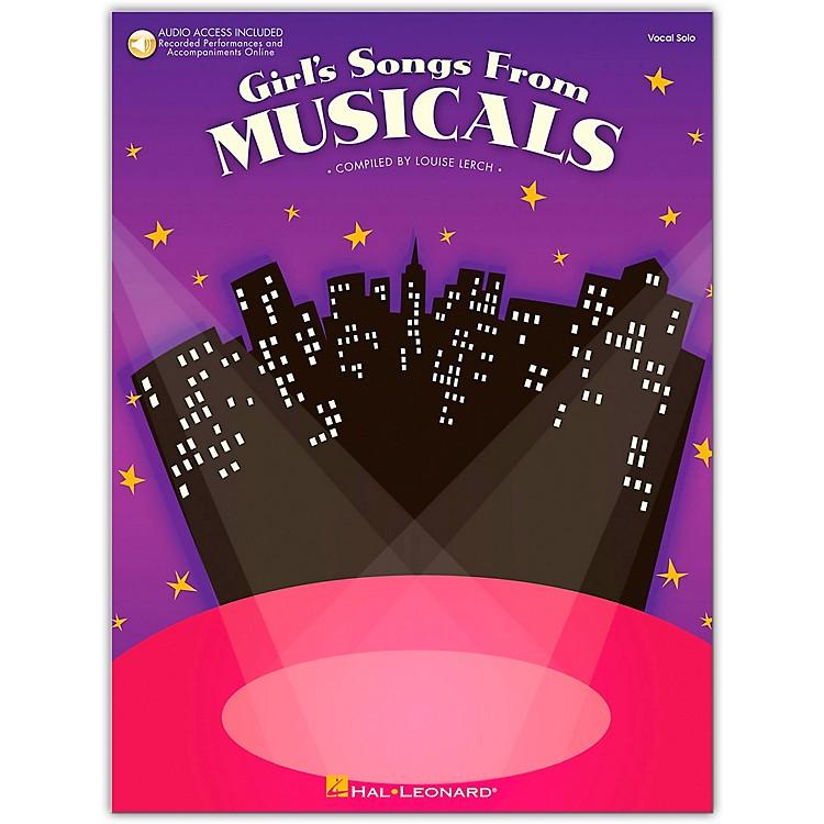 Hal LeonardGirl's Songs From Musicals Book/Online Media