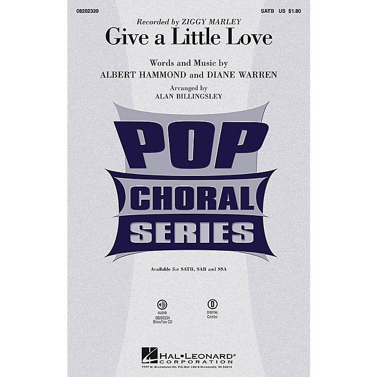 Hal LeonardGive a Little Love ShowTrax CD by Ziggy Marley Arranged by Alan Billingsley