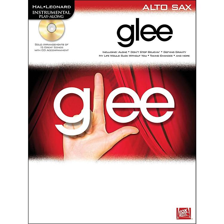 Hal LeonardGlee For Alto Sax - Instrumental Play-Along Book/CD