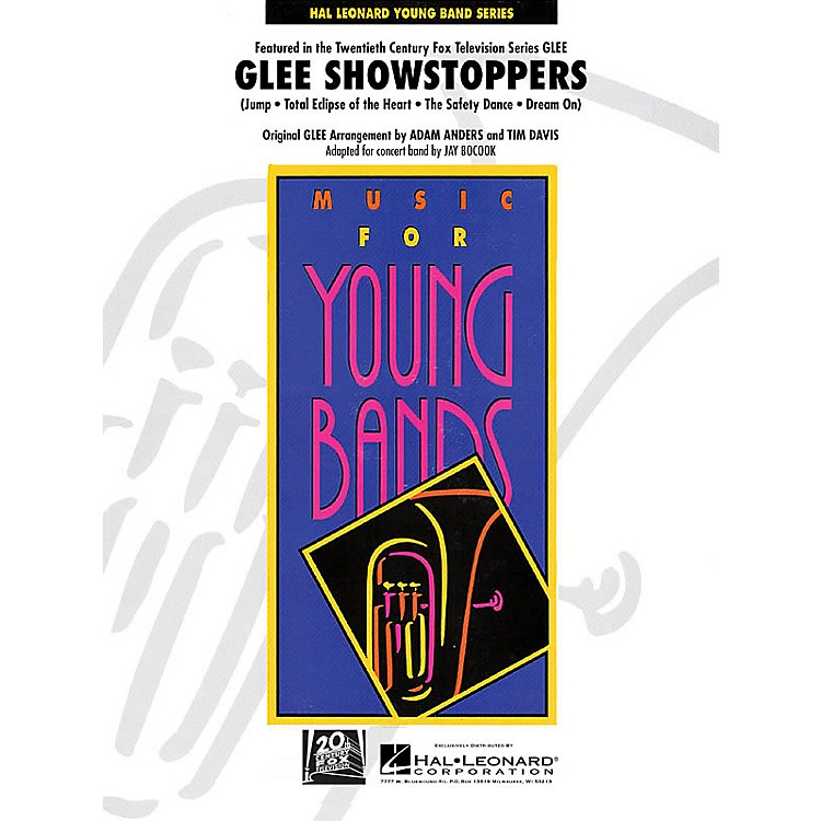 Hal LeonardGlee Showstoppers - Young Concert Band Level 3 by Jay Bocook