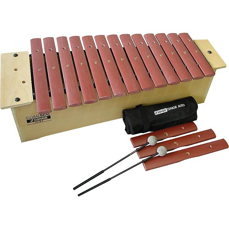Sonor OrffGlobal Beat Alto Xylophone with Fiberglass BarsFiberglass Bars