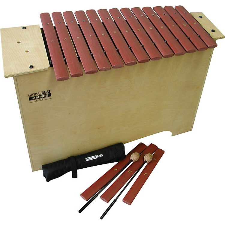 SonorGlobal Beat Deep Bass Xylophone with Fiberglass BarsFiberglass Bars