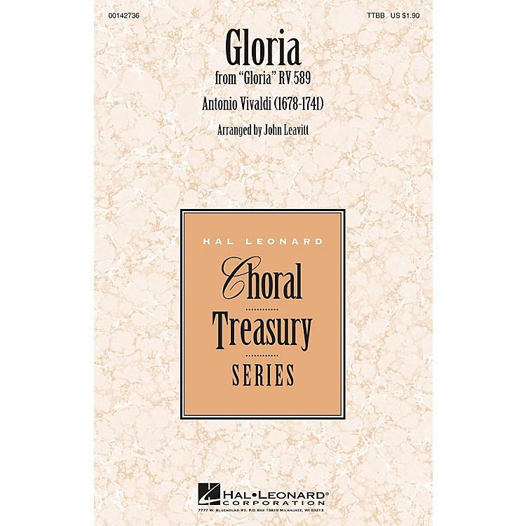 Hal LeonardGloria TTBB arranged by John Leavitt