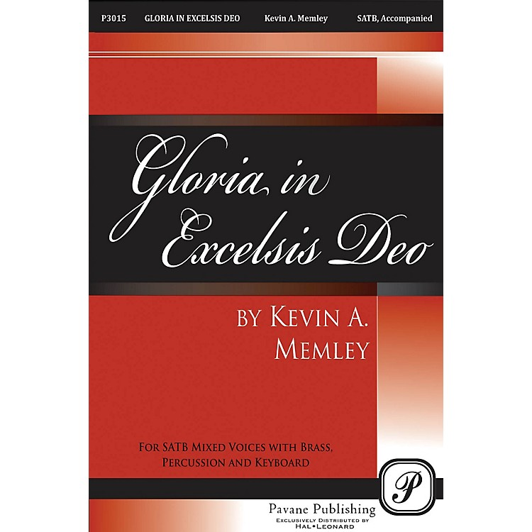 PavaneGloria in Excelsis Deo Score Composed by Kevin Memley