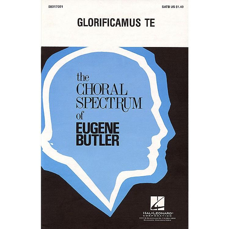 Hal LeonardGlorificamus Te SSA Composed by Eugene Butler