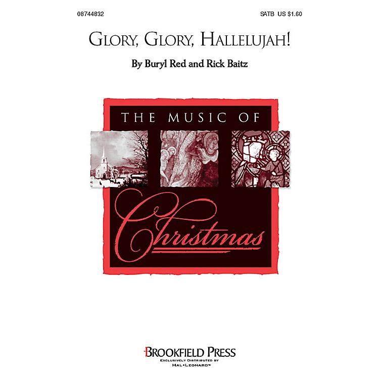 Hal LeonardGlory, Glory Hallelujah! SATB arranged by Buryl Red