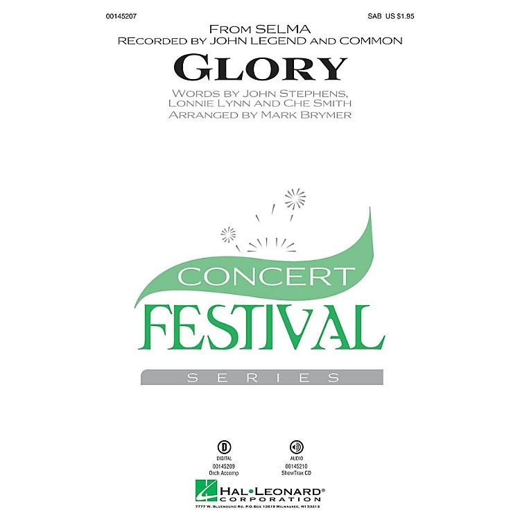 Hal LeonardGlory (from Selma) SAB by John Legend arranged by Mark Brymer