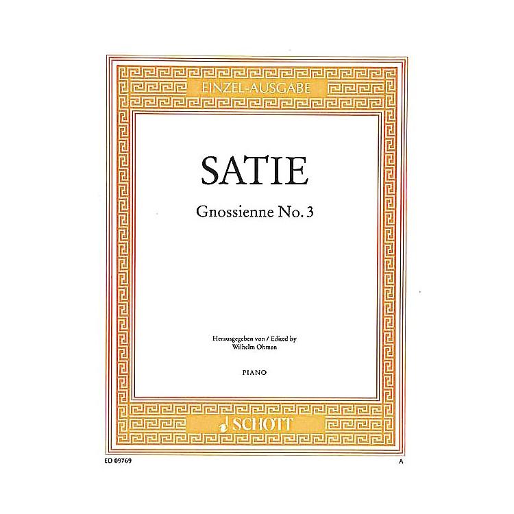 SchottGnossienne No. 3 Schott Series