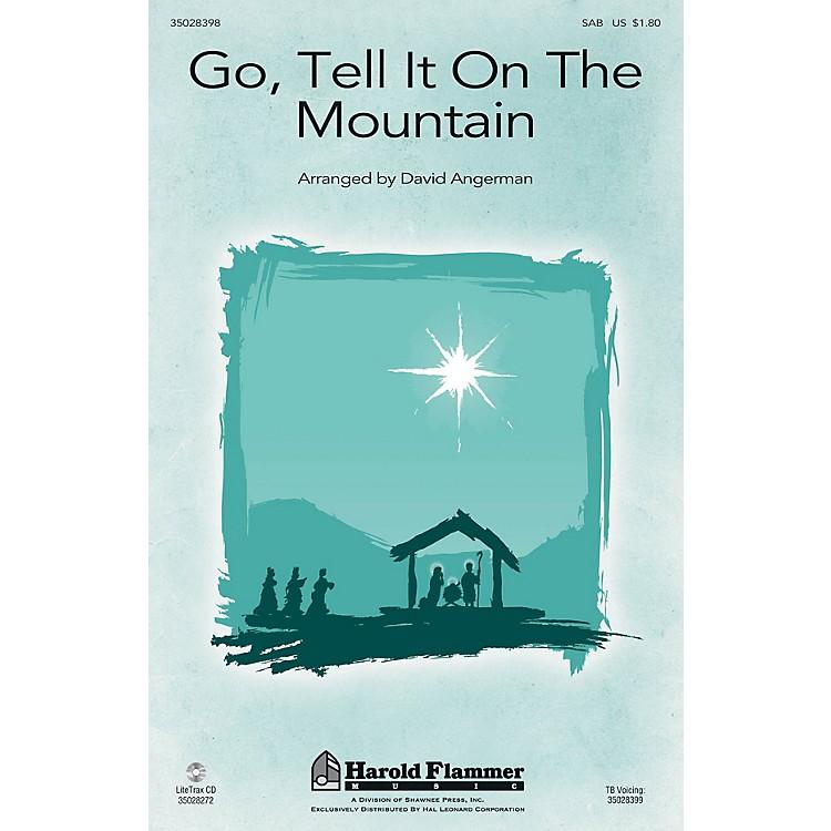 Shawnee PressGo, Tell It on the Mountain SAB arranged by David Angerman