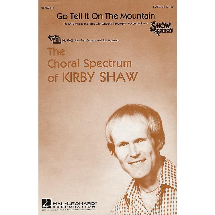 Hal LeonardGo Tell It on the Mountain SATB arranged by Kirby Shaw