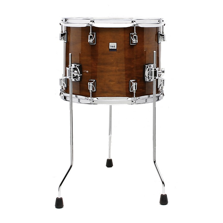 Taye DrumsGoKit Birch / Basswood Floor TomDaytona Sunset Lacquer14 x 11 in.