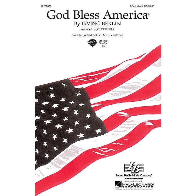 Hal LeonardGod Bless America® 3-Part Mixed arranged by Joyce Eilers