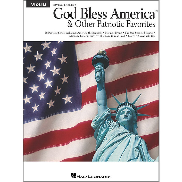 Hal Leonard God Bless America & Other Patriotic Favorites - Violin