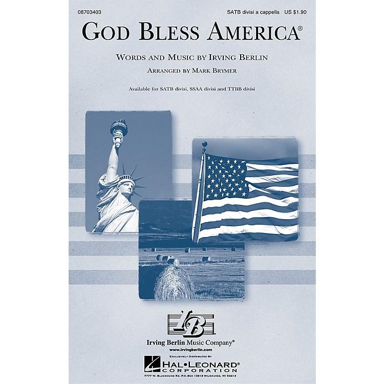 Hal LeonardGod Bless America® SATB DV A Cappella arranged by Mark Brymer
