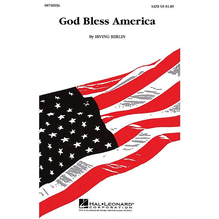 Hal LeonardGod Bless America® (SATB) SATB arranged by Keith Christopher
