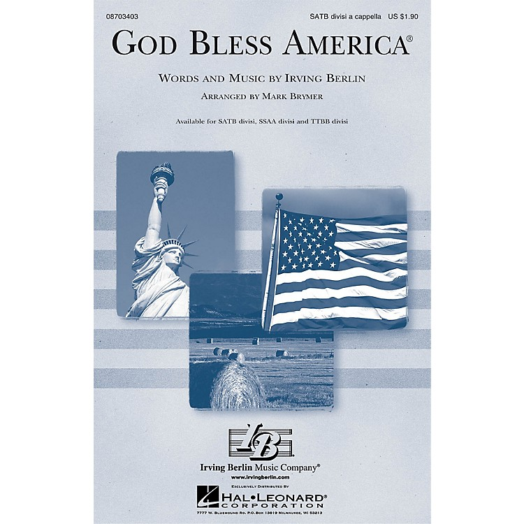 Hal Leonard God Bless America® SSAA Div A Cappella Arranged by Mark Brymer